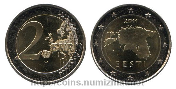 Estonia: euro - 2. ID = 2955