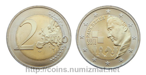 Estonia: euro - 2. ID = 4008