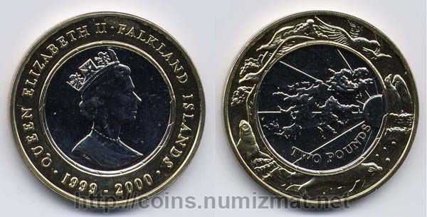 Falkland Islands: pound - 2. ID = 1132