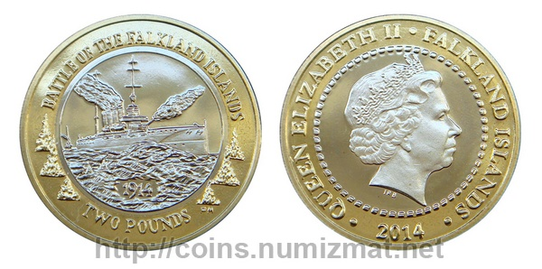 Falkland Islands: pound - 2. ID = 3804