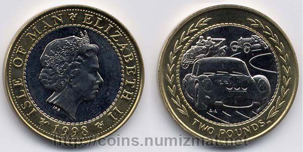 Isle of Man: pound - 2. ID = 1000
