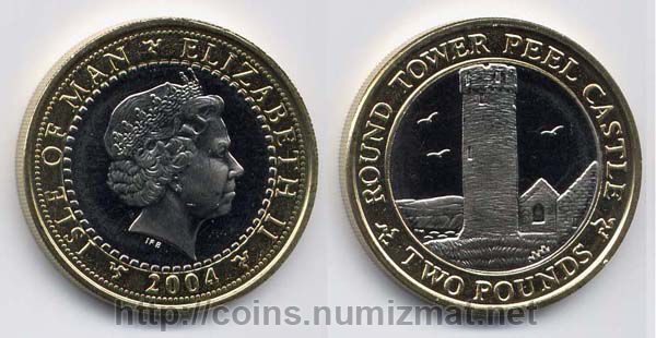 Isle of Man: pound - 2. ID = 1487