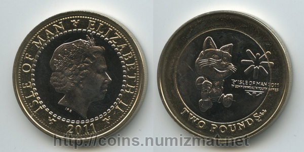Isle of Man: pound - 2. ID = 3135