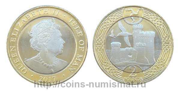 Isle of Man: pound - 2. ID = 4051