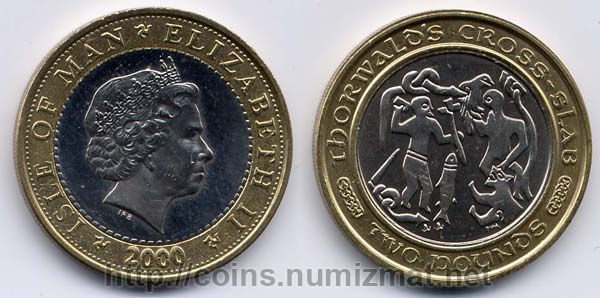 Isle of Man: pound - 2. ID = 665
